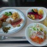 9496796 - 私が選択した朝食バイキング(昼食を考慮してセーブしてます)
