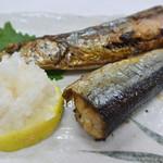 大善食堂 - 秋刀魚塩焼き
