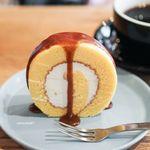 ノリズ コーヒー - 料理写真:エスプレッソキャラメルロールケーキ