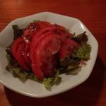 バラックからし屋 - トマトサラダ