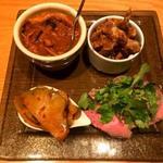 94965453 - 肉とスパイス前菜5種盛
