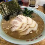 六角家 - チャーシュー麺 850円 lineクーポン麺増し無料で中盛に変更