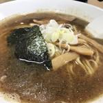 寺カフェ 中華そば水加美 - 魚介中華そば¥650