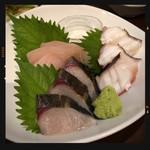 和み家 魚えん - 刺身3種盛り