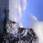 サンセット ドリーム - ぺシ岬:ゴリラ岩(3月末)