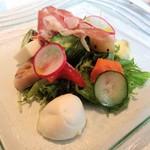 94971725 - 近江野菜のサラダ仕立て