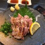 和鶏屋 - H.30.10.10.夜 百日鶏もも肉たたき 650円税別