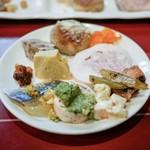 オステリア ブッコ - ・前菜6種