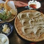 戸隠日和 - 料理写真:天ざるそば
