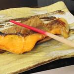 駒ヶ岳温泉 - 紅鱒の柚庵焼き