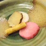 駒ヶ岳温泉 - がっこ盛り
