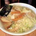 雲呑房 麺家 - 支那そば 麺家 酒家@新橋 雲呑麺 2006年6月