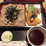丸三そば - 料理写真:天ざる蕎麦