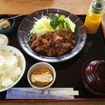 喜文 - 料理写真:焼き肉定食