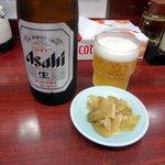 麺厨房 - ビール550円