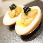 大衆天ぷらtoかすそば風土.はなれ - たまごたまごたまご