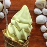 パーム - 日向夏ソフトクリーム