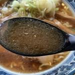 アルプス食堂 - アルプスラーメン スープ