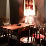 ザバーナノグールド - テーブル席