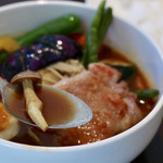 カリーヤ!コング - サラサラで旨味が濃厚なスープカレー