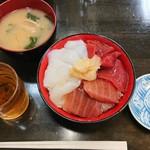 94988424 - 生マグロイカ漬け丼¥600+税