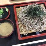 秩父そばの会 - 料理写真:くるみだれ蕎麦大盛
