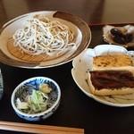 茶店 一休 - 料理写真:蕎麦豆腐味噌田楽 1400円