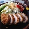 キッチンハイツ - 料理写真:ヒレかつ定食
