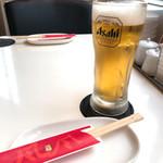 たこやき風風 - まずは生ビール
