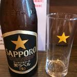 奈良うどん ふく徳 - 瓶 BEER