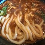 奈良うどん ふく徳 - カレーうどんの麺