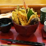 栄寿し - 料理写真:天丼