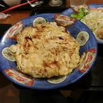 白楽天 - 焼豚玉子飯(両面焼き)
