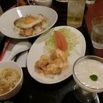 白楽天 - 焼豚玉子飯レディースセット