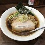 一刀流らーめん - 料理写真:スーパー煮干醤油790円(税込)