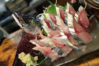大衆割烹 善甚 - 生鯖刺身