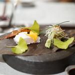 日本料理 TOBIUME - アコウと馬面ハギの刺身