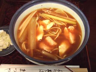 神田まつや - カレー南蛮(900円)