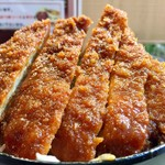 明治亭 - ソースかつ小盛り丼 1,289円