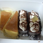 パルミエ - 料理写真:チーズケーキ&フォレノワール