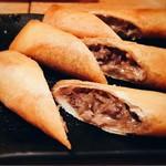 Shaji - 丹波いのししと松茸の春巻き
