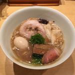 饗 くろ喜 - 特製醤油そば(1,500円) 2018.10