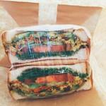 ジューシーズ ラボラトリー - サンドイッチ  チキンサラダ 850