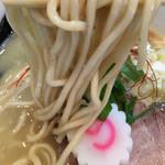 中華そば桐麺 - 鶏白湯 塩 麺