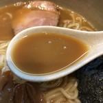 95009247 - 2018.10.8  味玉らーめん 大盛り〜濃厚スープ
