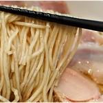 95016768 - 低加水でザックリした食感が楽しい麺。