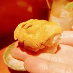 焼鳥 輝久 - ●ササミ雲丹鮨様