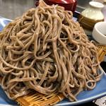 後庵 - 料理写真:てっぺん盛りそばW ¥800