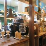 ajipai - 細い路地裏のカジュアルなコーヒー店4