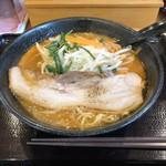 夢天下 - 料理写真:ニンニク味噌ラーメン  850